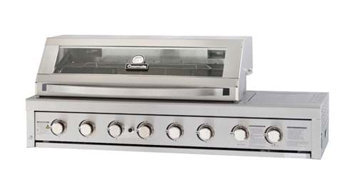 Stainless Steel 6 Burner Built-In BBQ 1