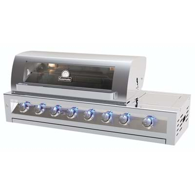 Stainless Steel 6 Burner Built-In BBQ