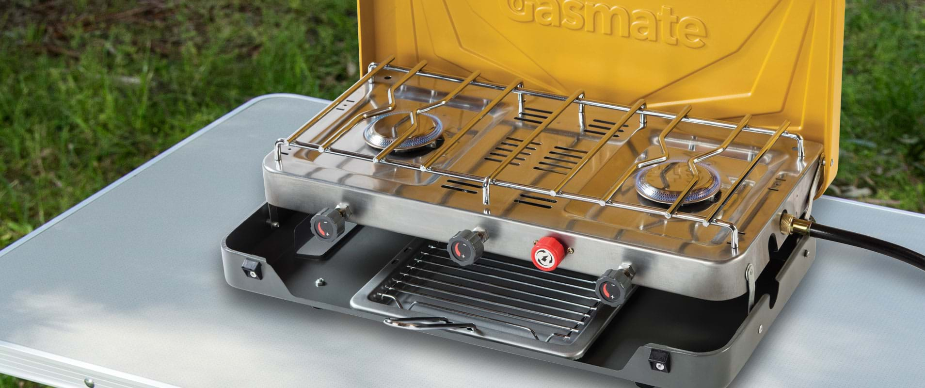 Camping stove and grill