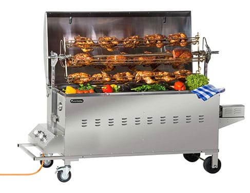 how to use jumbuck mini spit roaster with rotisserie