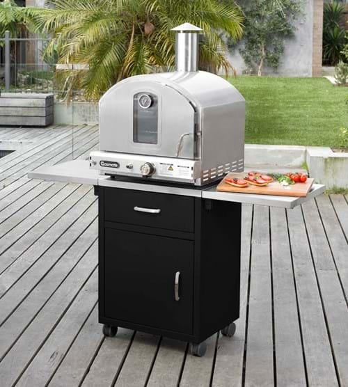 Stainless Steel Deluxe Pizza Oven Gasmate Australia