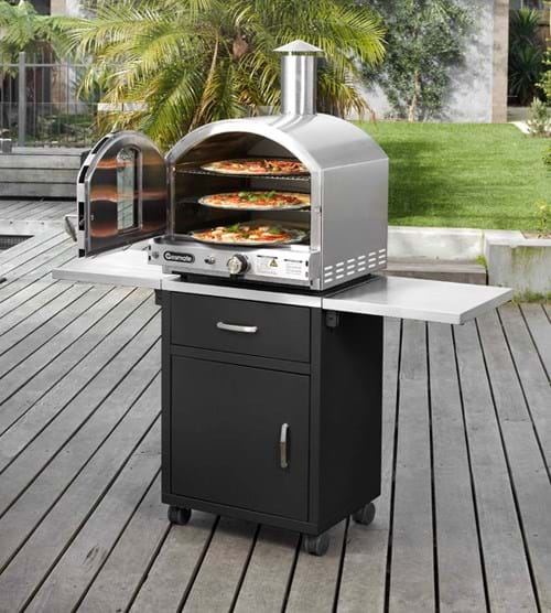 Stainless Steel Deluxe Pizza Oven 3