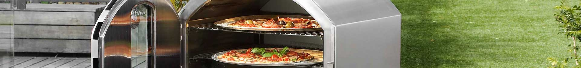 Stainless Steel Deluxe Pizza Oven