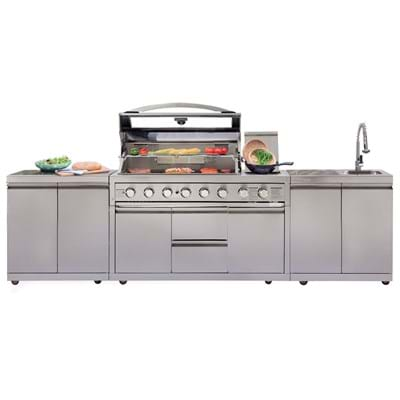 Gasmate Platinum Iii Bbq Outdoor Kitchen Range Gasmate