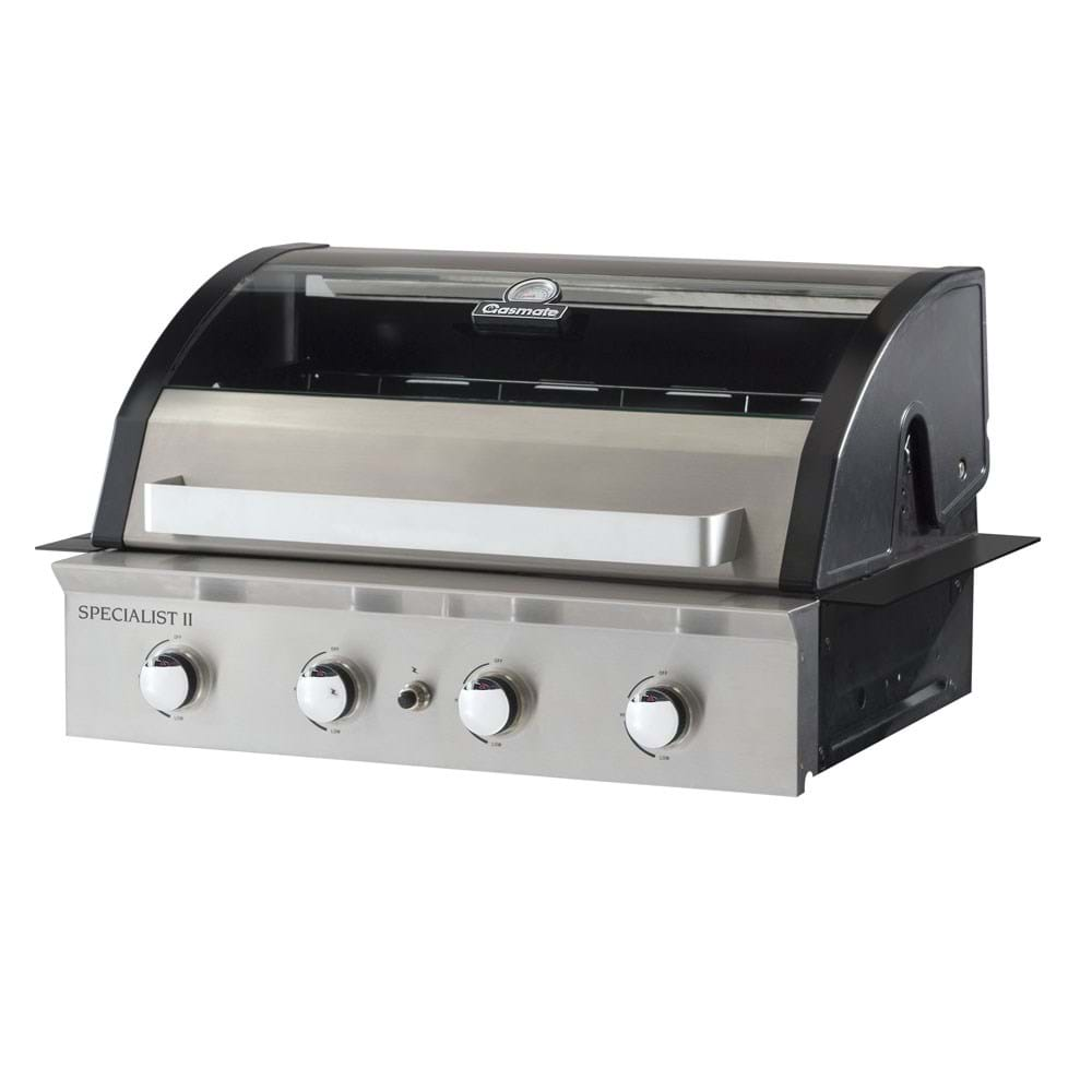 Deluxe Built-In 4 Burner BBQ