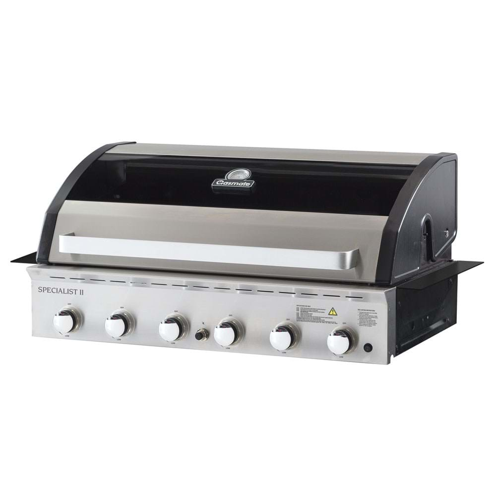 Deluxe Built-In 6 Burner BBQ